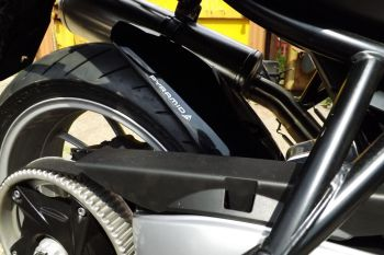 BMW F800GT Rear Hugger: Black 074258B