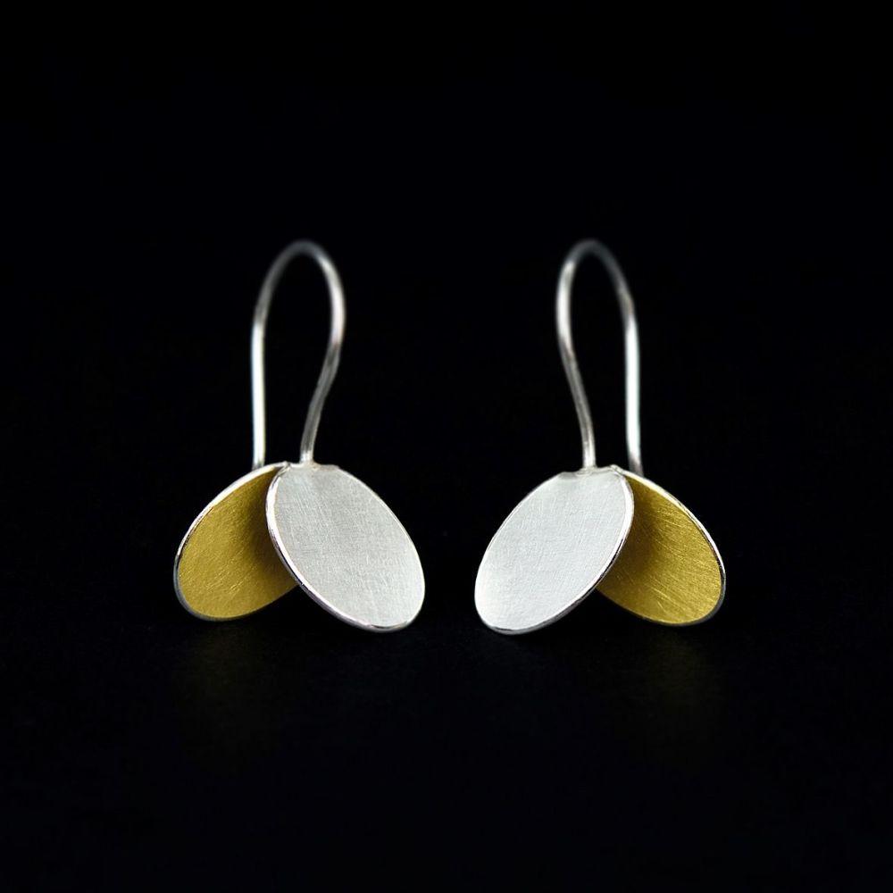 Little wing drop earrings