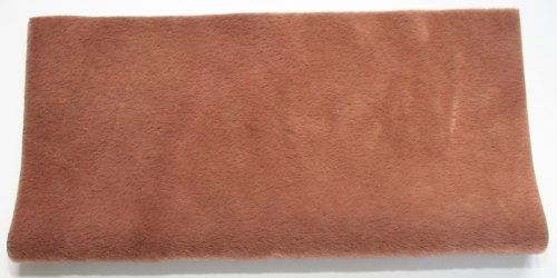Sassy Fabric - Smokey Long Pile - Nut Brown