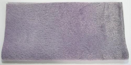 Sassy Fabric -Smokey Long Pile - Shimmer Lilac