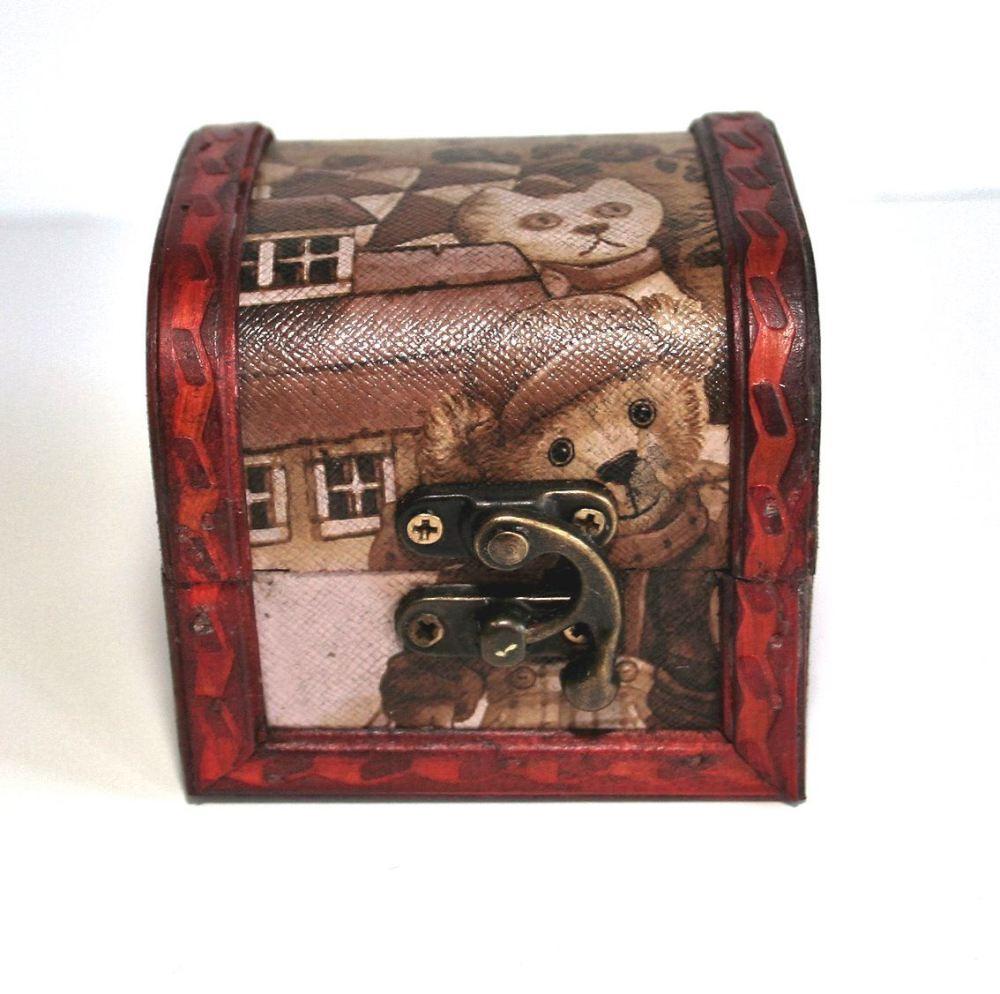 TEDDY BEAR BOX - SMALL