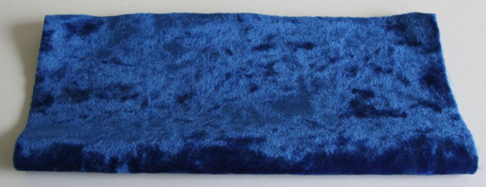 Vintage Rayon - Royal Blue