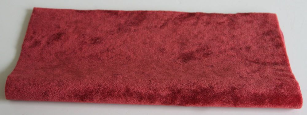 Vintage Rayon - Red