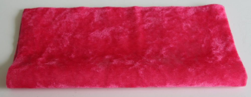 Vintage Rayon - Bright Pink