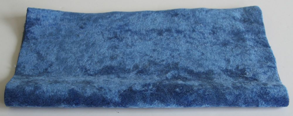 New ProductVintage Rayon - Blue Shimmer