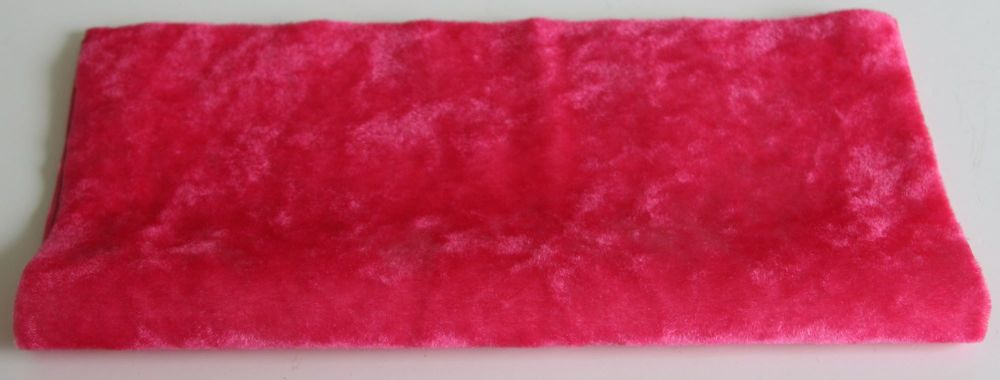 Vintage Rayon - Flamingo Pink