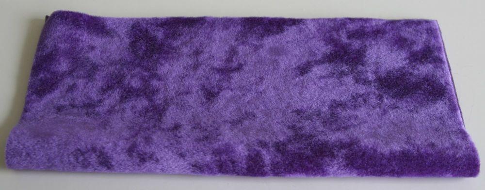 Vintage Rayon - Purple