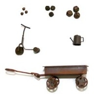 Rusted Bear Props/Accessories