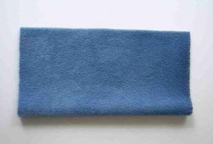 Sassy Fabric - Smokey Long Pile - Evening Blue