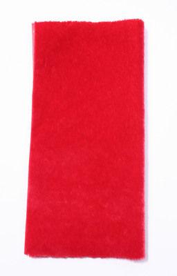 Sassy Fabric - Sassy Long Pile - Scarlet
