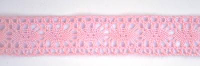 Cotton Lace - Pink