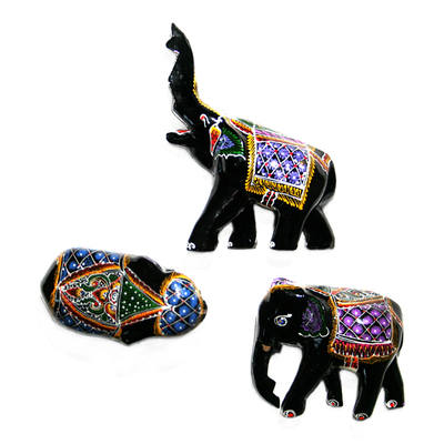 Laquered Elephant (1pc)