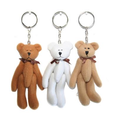 Teddy Bear Keyring/ Handbag Charm - Various Colours
