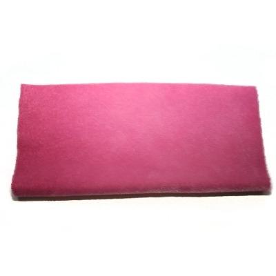 Sassy Fabric - Sassy Long Pile - Pink Tulip