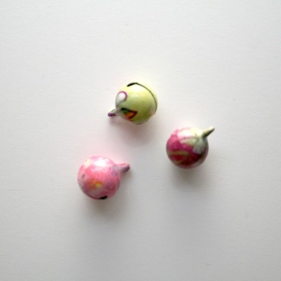 Enameled Bells - Pastel Colours