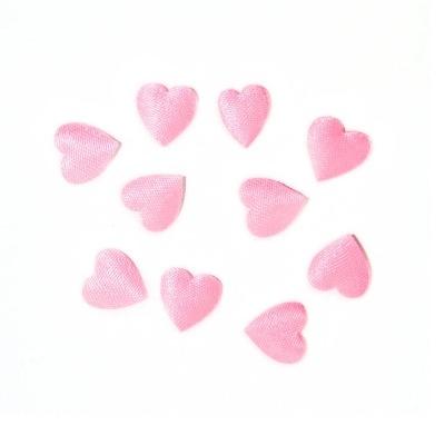 Tiny Pink Padded Hearts