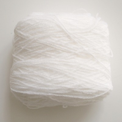 Yarn 4ply White