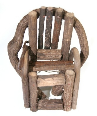 Rustic Twig Chair