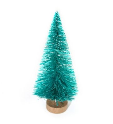 Sisal Bottle Brush Christmas Tree