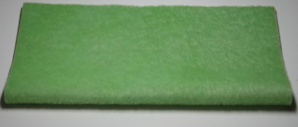 Sassy Fabric Sassy Long Pile - Pale Green