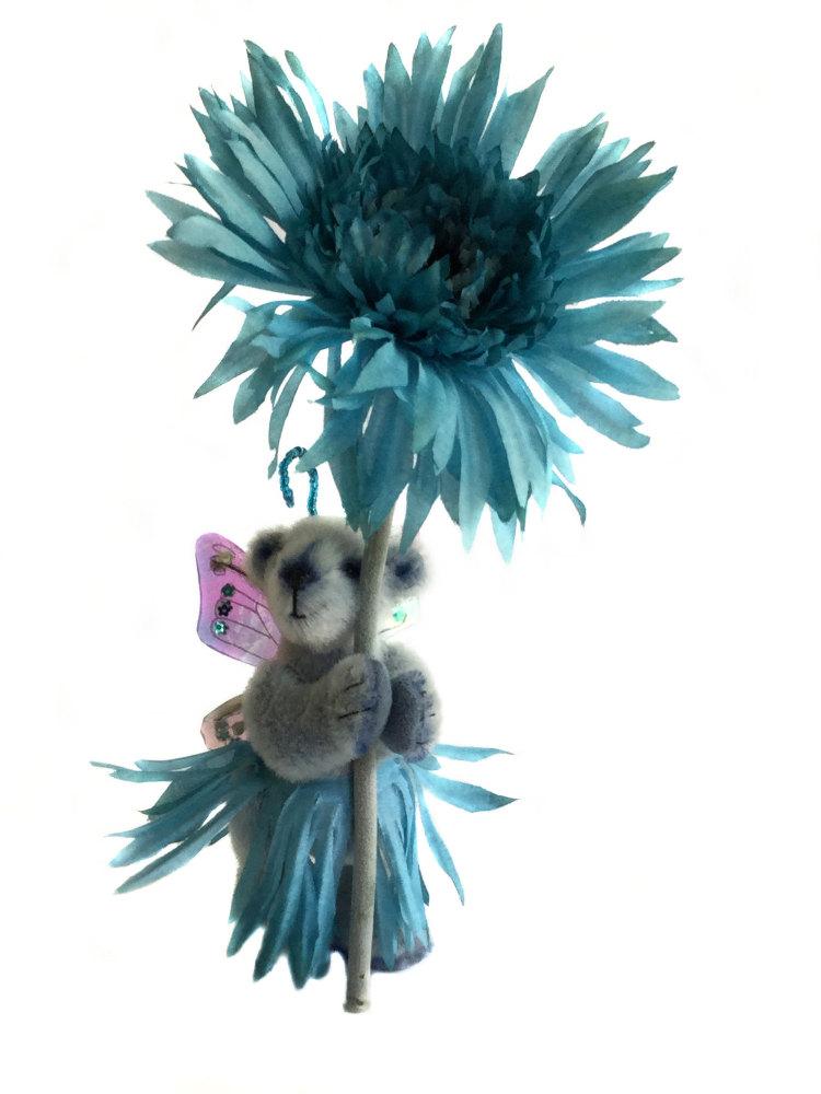 Blue Gerbera Fairy
