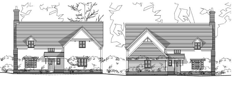 new houses - felsham
