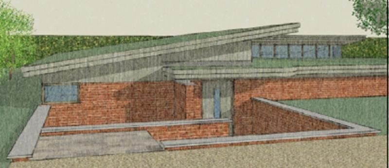 new house - long melford - model