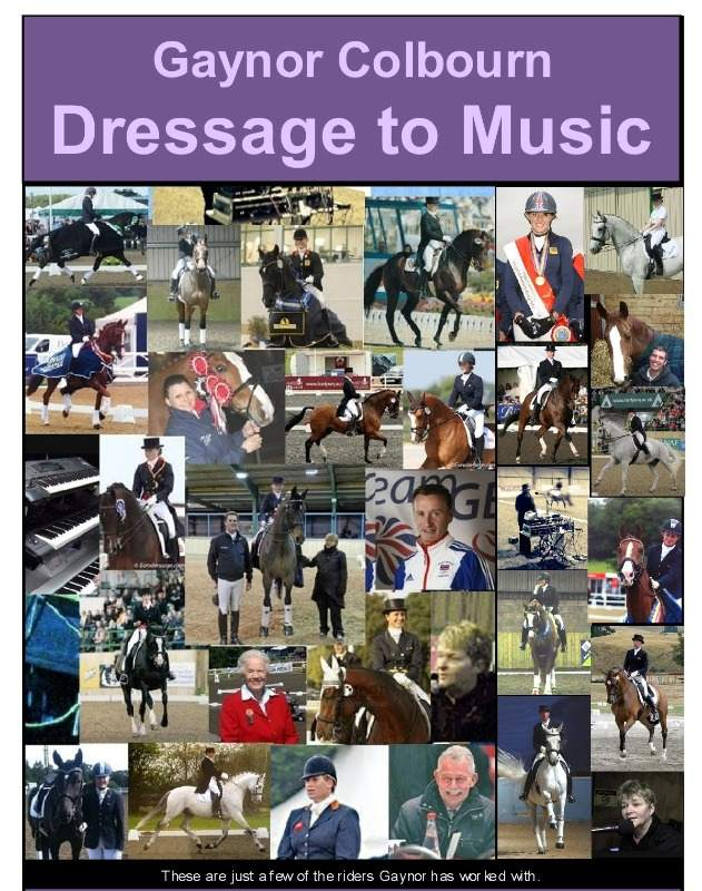 gaynor dressage to music handout