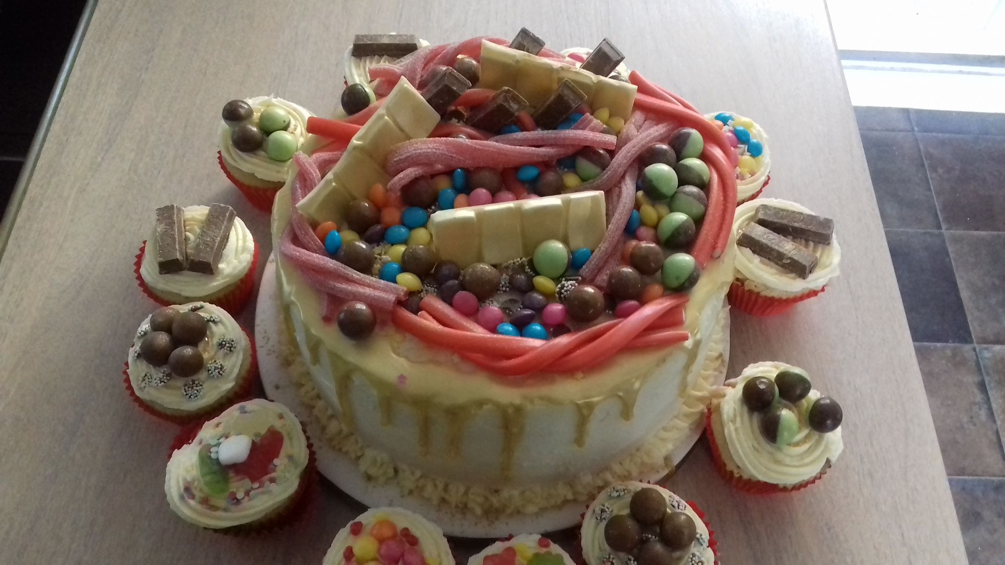 Custom Sweet Cake
