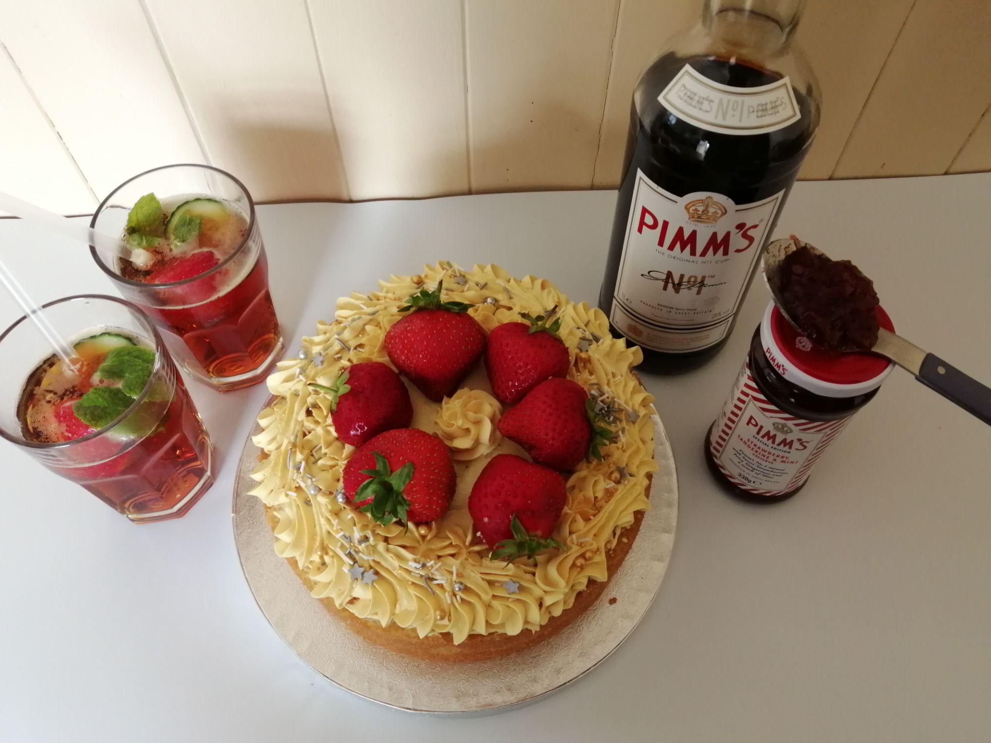 Pimms Cake