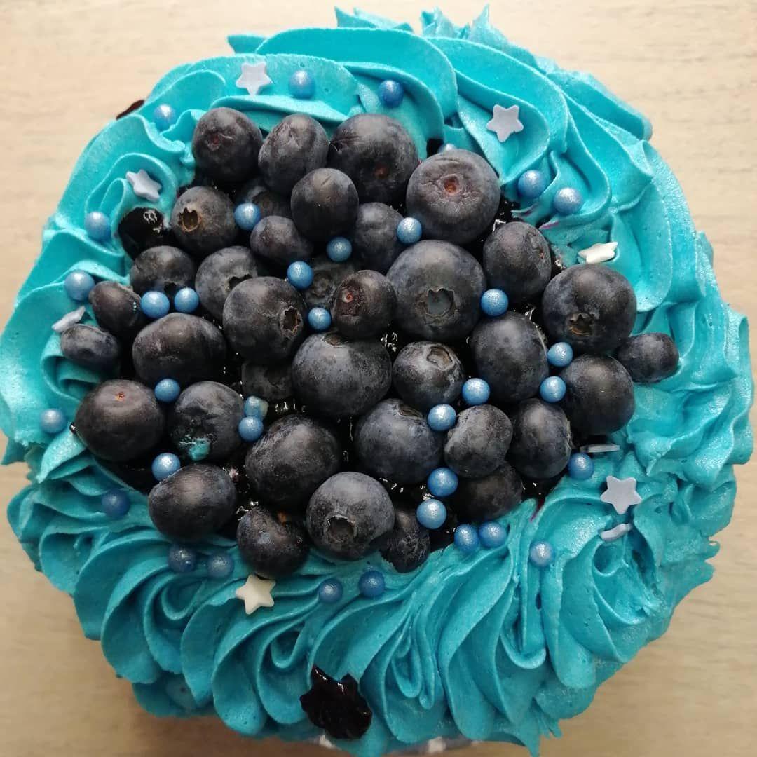 Blue Monday Cake