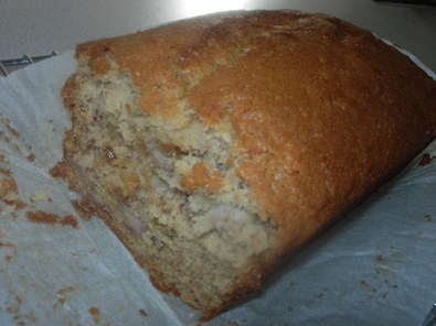 banana fudge loaf