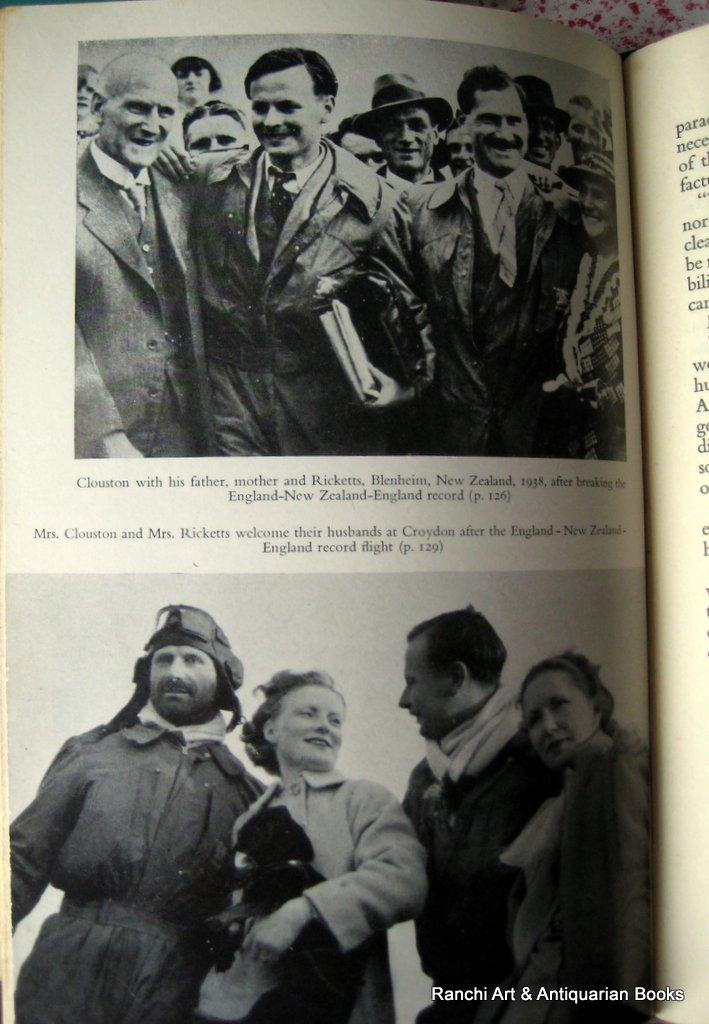 The Dangerous Skies, AE Clouston, 1954. RAF Scampton Library. Photo plates.
