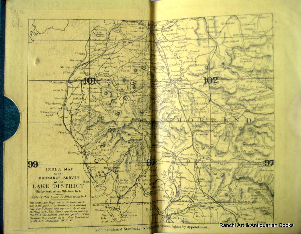 Practical Guide to the English Lake District, Henry Irwin Jenkinson, 1875 4th Edition.