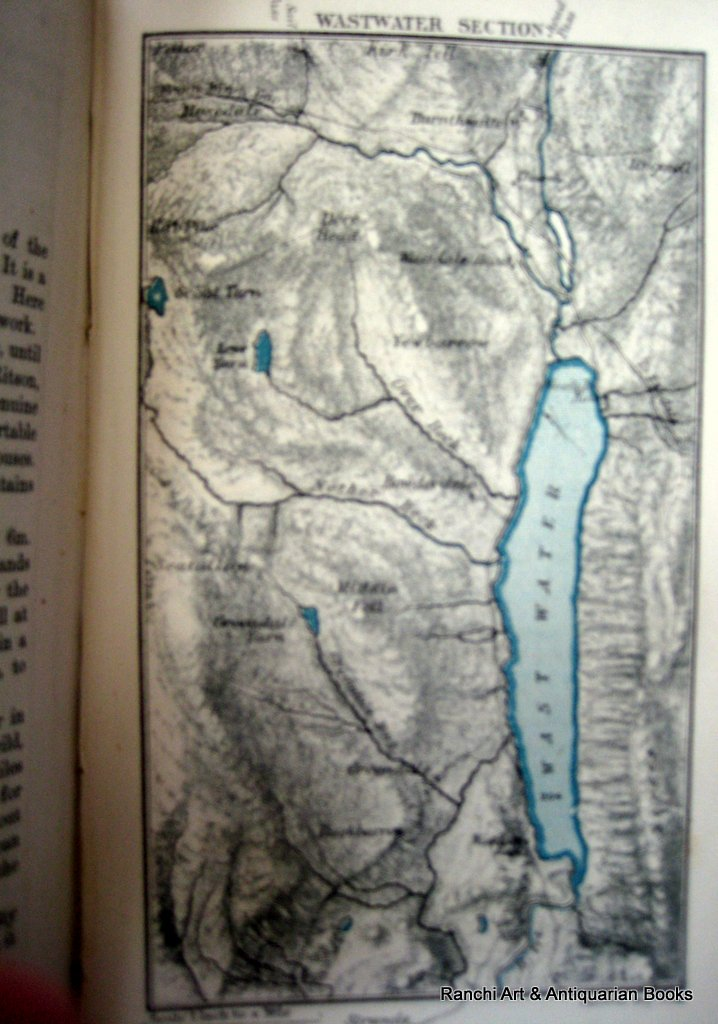 Practical Guide to the English Lake District, Henry Irwin Jenkinson, 1875 4th Edition. Detail.