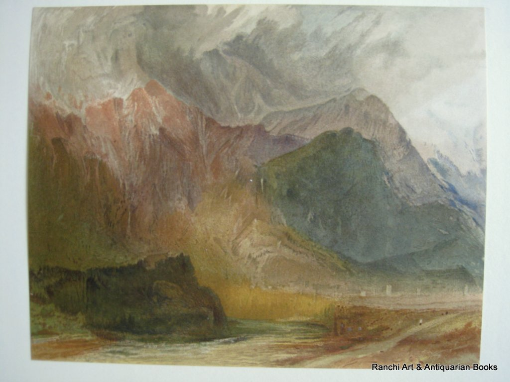 Turner by Sir Walter Armstrong 1902. Limited Edition. Detail. Colour plate.