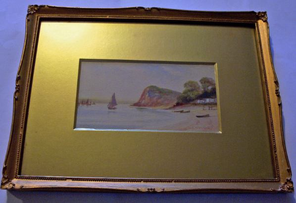 GM Avondale, Shaldon, watercolour, c1910.