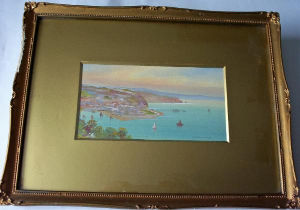 GM Avondale, Teignmouth, watercolour gouache, c1910.