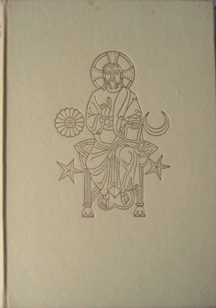 St Francis of Assisi, A Pictorial Biography, Leonard von Matt and Walter Hauser, Longmans Green 1956, 1st Edition. Front board.