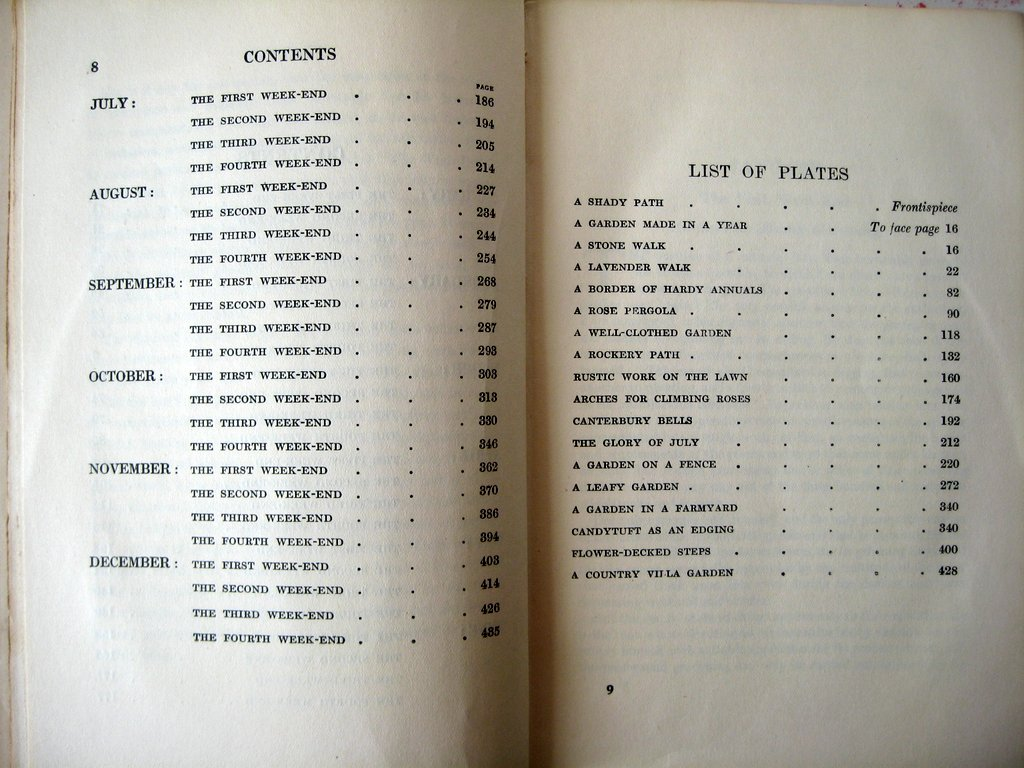 Contents and List of Plates.