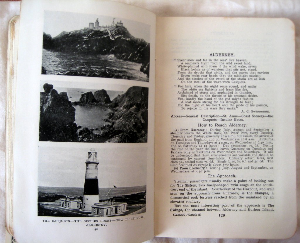 Ward Lock's Red Guide to The Channel Islands, 20th Edn 1930. Detail.