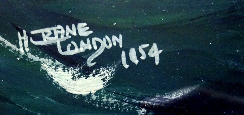 mv English Prince, gouache, titled, signed and dated, H Crane 1954.