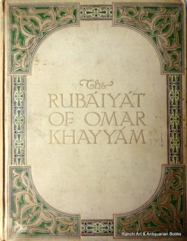 The Rubaiyat of Omar Khayyam, Edward Fitzgerald, 38 photographs Mabel Eardley-Wilmot, 1912. 1st Edition.