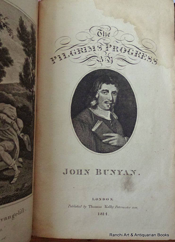 The Pilgrim's Progress, John Bunyan, Kelly's Edition, 1816. Detail.