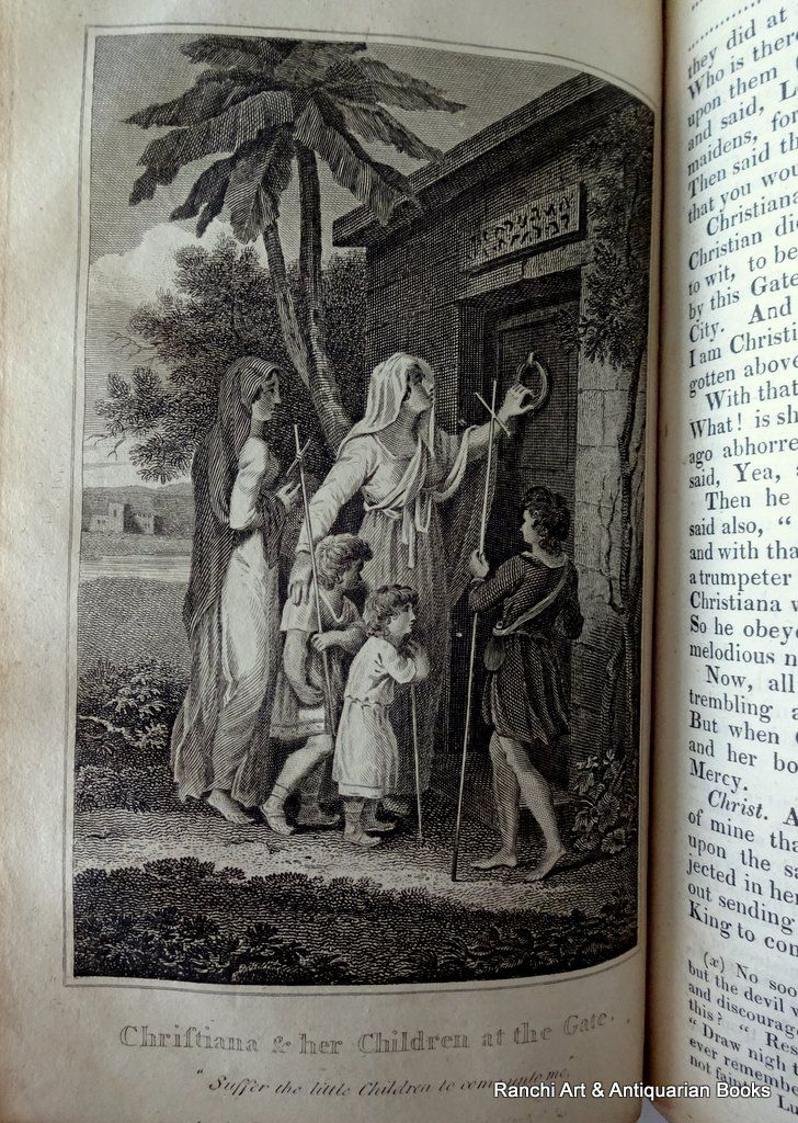The Pilgrim's Progress, John Bunyan, Kelly's Edition, 1816. Detail. Full plate.