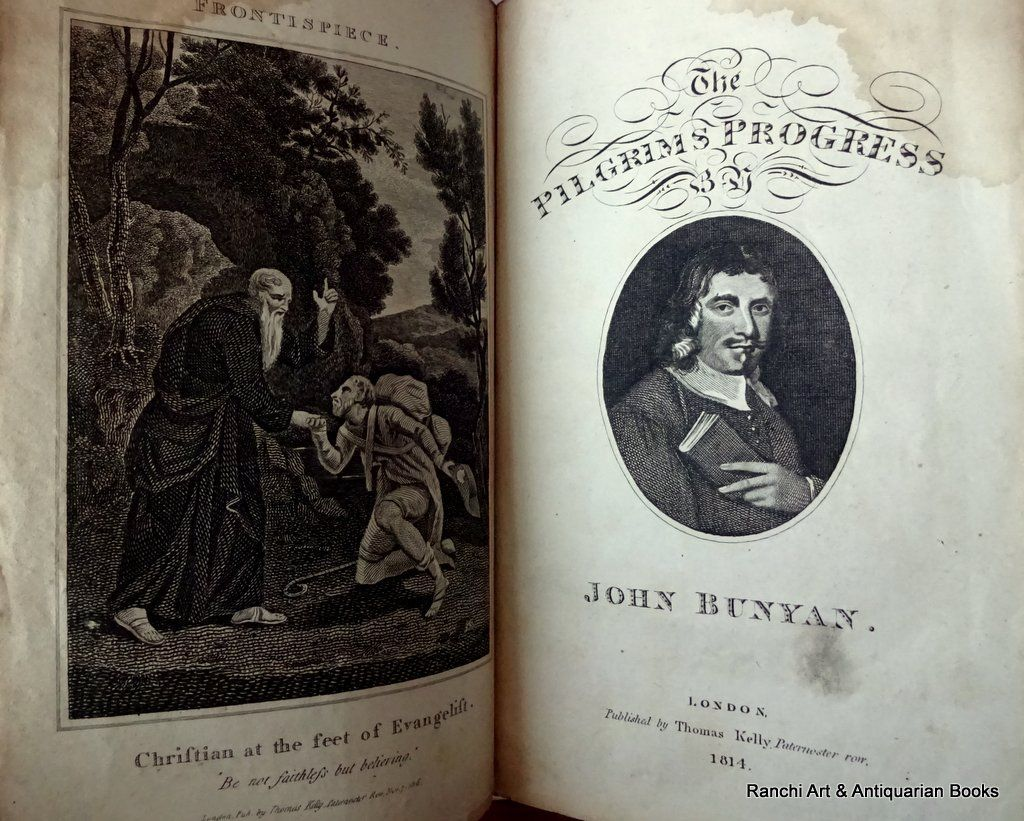 John Bunyan, Pilgrim's Progress, Kelly's Edition, 1816.