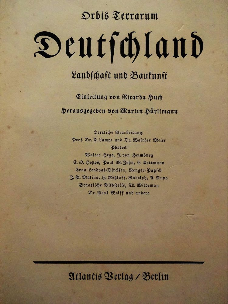 Collection of photographs of German 1931.