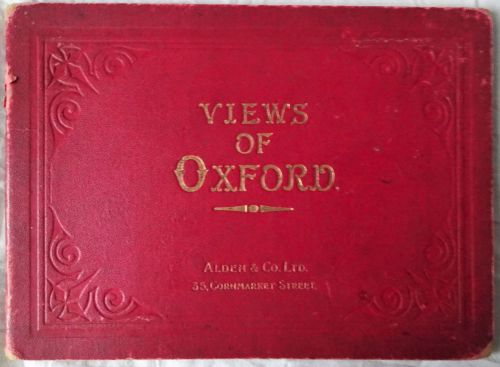 Views of Oxford, 20 photographs, published by Alden & Co. Ltd., Oxford. 192