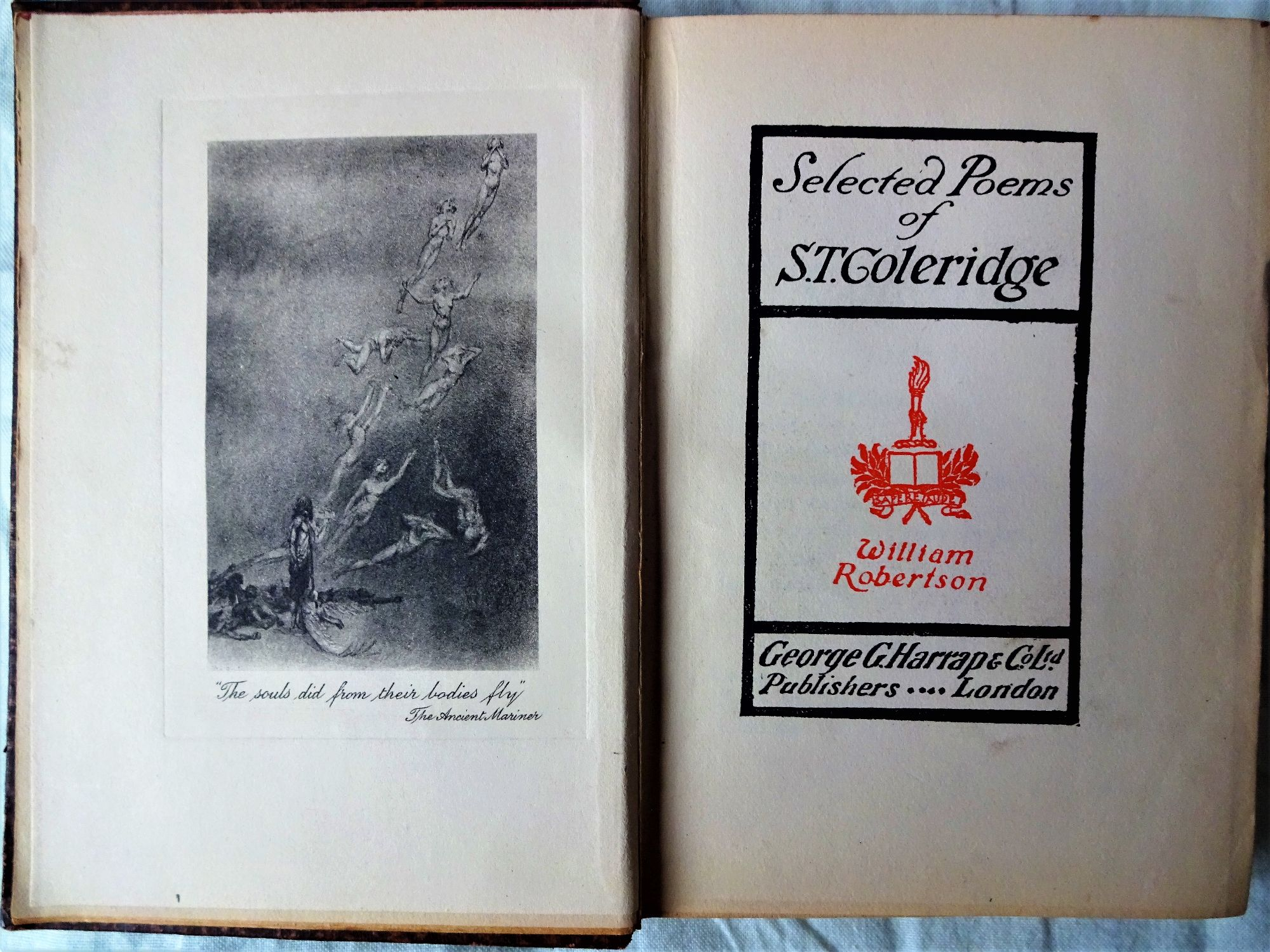 S.T. Coleridge, Selected Poems, George G. Harrap & Co., 1915.