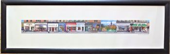 West End, Great Western Road, Glasgow. Giclee, Viewfield Gallery, 2010. Framed.
